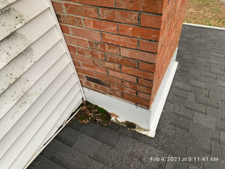 visual of chimney damage